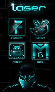 Laser GO LauncherEX Theme
