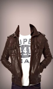Men Jacket Photo Suit
