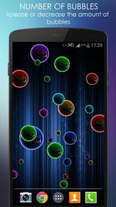 Neon Bubble Live Wallpaper