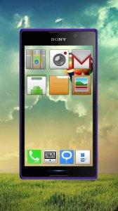 Transparent Launcher Theme