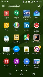 Z5 Launcher and Theme
