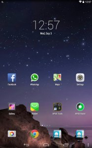 APUS Launcher: Theme, Boost