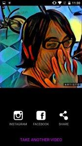 Artisto – фильтры фото и видео