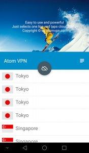 Atom VPN (100% free)