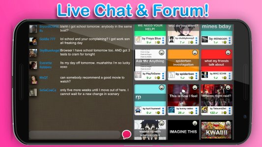 chat forum chat