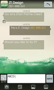 Clee2 GO Launcher EX AND GO SMS PRO
