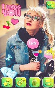Cute Stickers Photo Editing