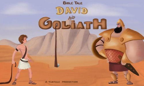 David & Goliath Bible Story Android App APK (com tabtale