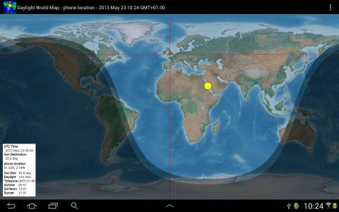 Daylight World Map