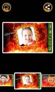 Fire Photo Frames