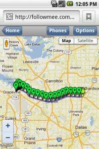 GPS Tracker By FollowMee