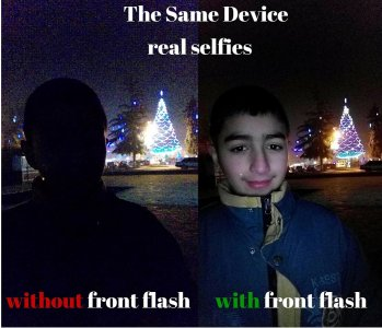 Front Flash Selfie - Camera