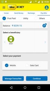 Idea Money Payments - Recharge, Send Money, Wallet