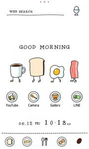 Cute Theme-Living Breakfast-
