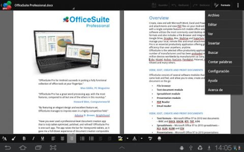 Mobisystems OfficeSuite : Free Office + PDF Editor