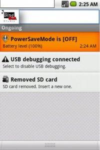 Power Save Mode Toggle