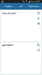 Indonesian English Translator