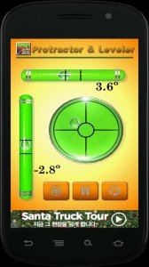 Protractor and leveler