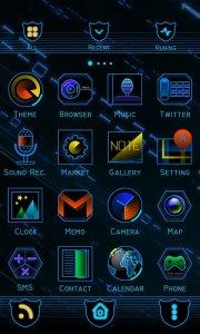 Skyline GO Launcher Theme