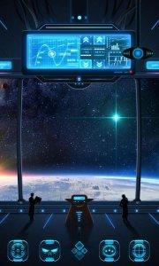 Space trip GO Launcher Theme