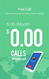 WhatsCall Free Global Phone Call App & Cheap Calls