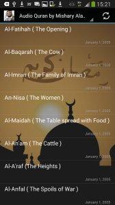 Audio Quran by Mishary Alafasy