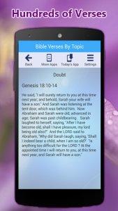 Bible Verses By Topic App & Caller ID Screen