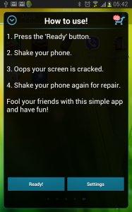 Crack Your Screen Prank
