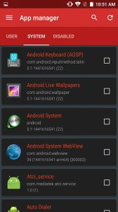 Device Control [root]