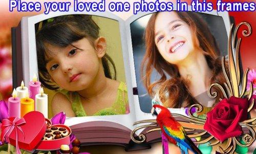 Dual Book photo frames effect