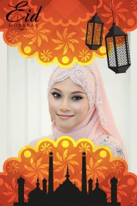 Eid Mubarak Season Photo Frame