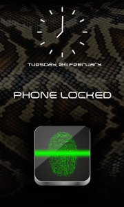 Fingerprint Lock Screen Broma
