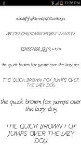 Fonts for FlipFont #15