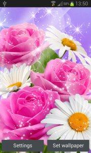 Bunga Bersinar Gambar Animasi Android Apl Apk Com