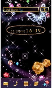 Night sky Theme-Jewel Galaxy-