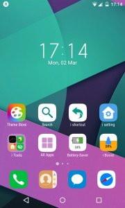 IO Launcher (Lollipop + iOS 8)