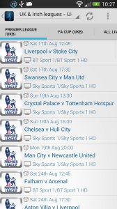 Live Football On TV Guide