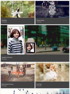 Photo frames - Lune