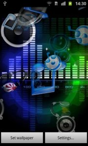 Music Sound Live Wallpaper