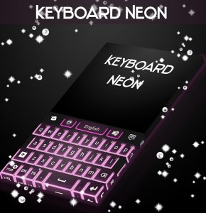 Neon Keyboard Themes Free