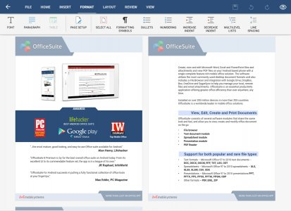 Mobisystems OfficeSuite Pro + PDF (Trial)