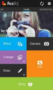 PicsArt Photo Studio: Creatore Collage & Editor