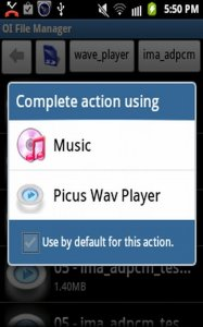 Picus Wav Player