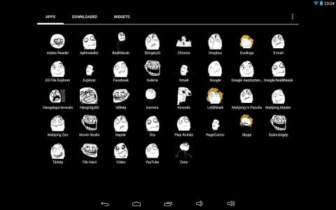Rage Comic Icon Pack