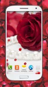 Red Roses Live Wallpaper HD