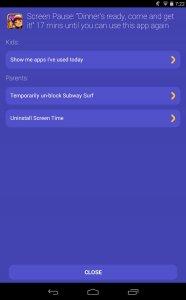 Screen Time Companion App
