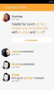 Foursquare Swarm: Check In