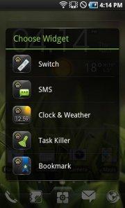 EZ Switch Widget