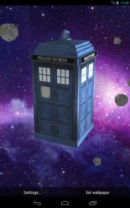 TARDIS 3D Live Wallpaper