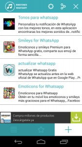 Ringtones para WhatsApp